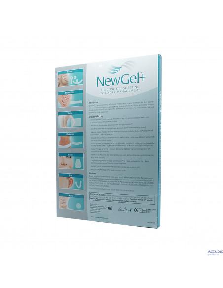 NewGel Silikon Narbenpflaster Anker